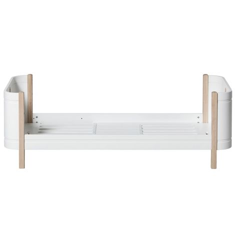Oliver Furniture Wood Mini+ Juniorbett Weiß/Eiche