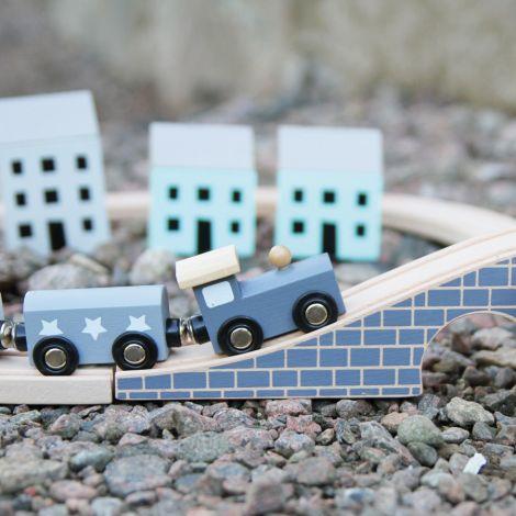 JaBaDaBaDo Auto-Spiel-Set Blau mit viel Zubehör