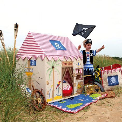 Win Green Spielhaus Pirate Shack Klein