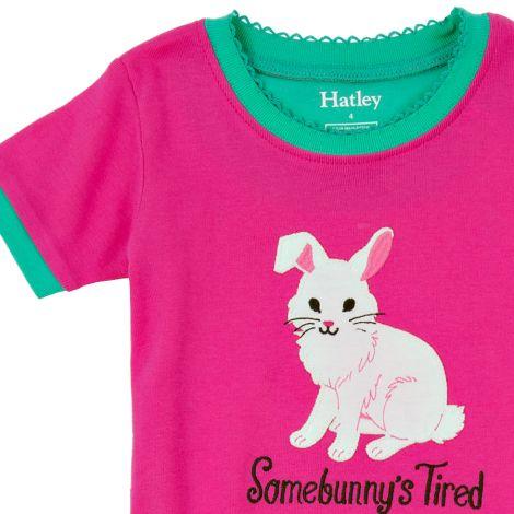 Hatley Schlafanzug-Set kurz Spring Bunnies