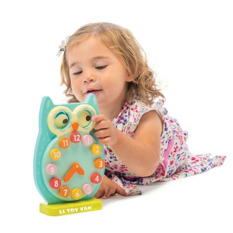 Le Toy Van Blinkende Eulenuhr