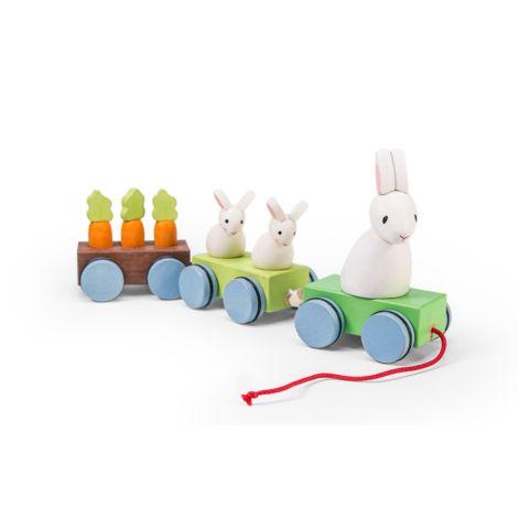 Le Toy Van Zug der Hasen