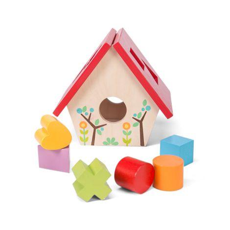 Le Toy Van Mein kleines Vogelhaus 'Formen Sortierspiel'