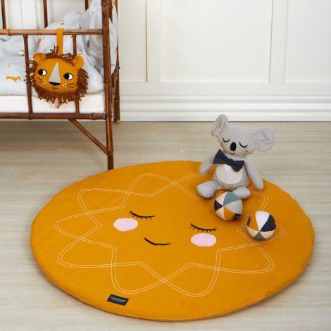 Roommate Spielmatte Ochre Bio-Baumwolle