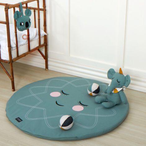 Roommate Spielmatte Sea Grey Bio-Baumwolle