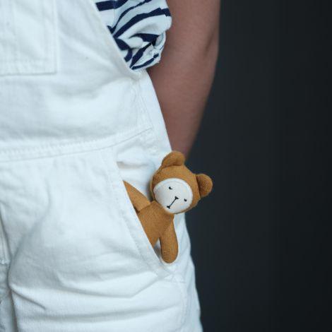Fabelab Püppchen Pocket Friend Bear Bio-Baumwolle