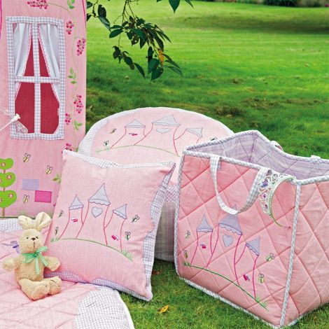 Win Green Spieldecke Quilt Princess Castle Klein