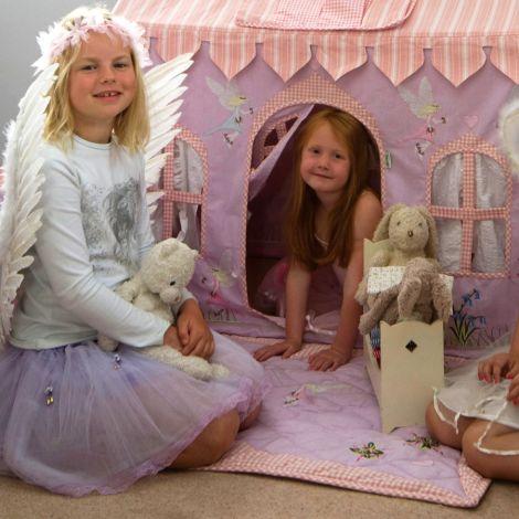 Win Green Spieldecke Quilt Fairy Klein