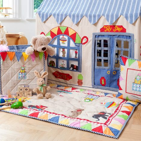 Win Green Spieldecke Quilt Toy Shop Klein