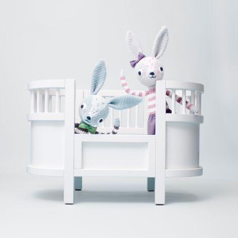 Sebra Puppenbett inkl. Matratze Weiß