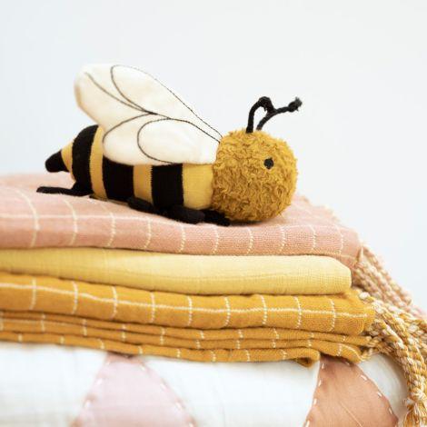 Fabelab Rassel Bolette Bee Bio-Baumwolle