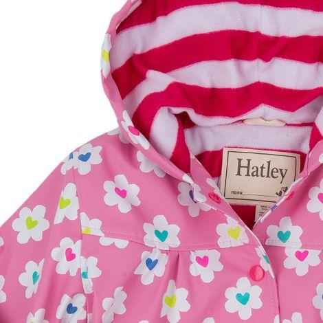 Hatley Kinder Regenjacke Flower Heart Garden