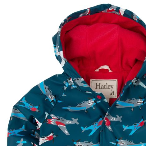 Hatley Kinder Regenjacke Fighter Planes