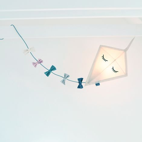 Roommate Deckenlampe Drachen Kite Off White