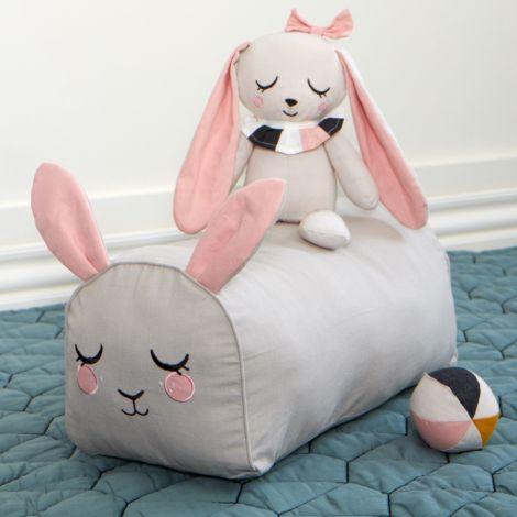 Roommate Pouf Bunny Bio-Baumwolle