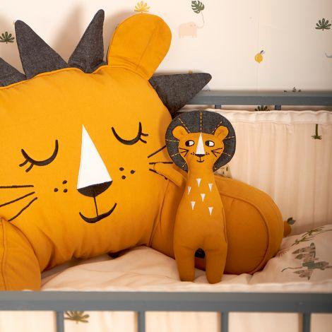 Roommate Stofftier Lion Bio-Baumwolle