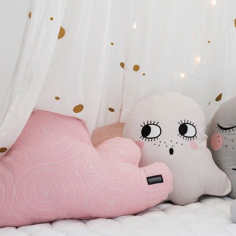 Roommate Kissen Cloud Rose Bio-Baumwolle