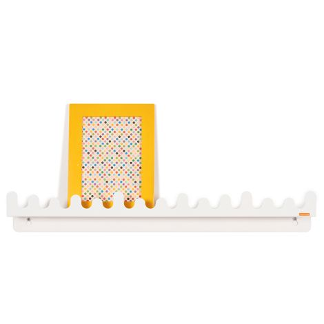 Roommate Regal mit Haken Doodle Drop White