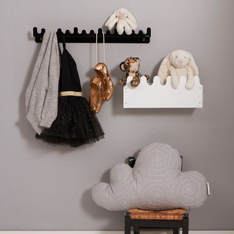 Roommate Kissen Cloud Grey Bio-Baumwolle
