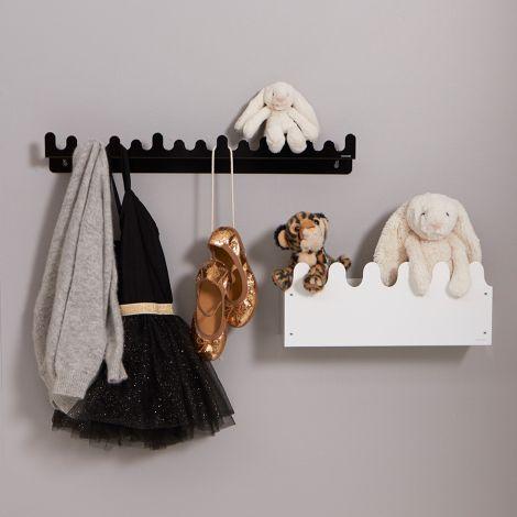 Roommate Aufbewahrungsbox & Kleiderhaken Sinus White