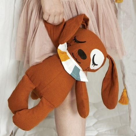 Roommate  Sensorische Puppe Duke the Dog Bio-Baumwolle