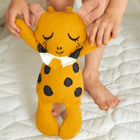 Roommate Sensorische Puppe Goldie the Giraffe Bio-Baumwolle