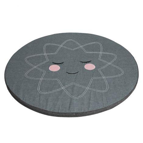Roommate Spielmatte Anthracite Bio-Baumwolle