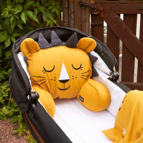 Roommate Kinderwagen-Kissen Lion Bio-Baumwolle
