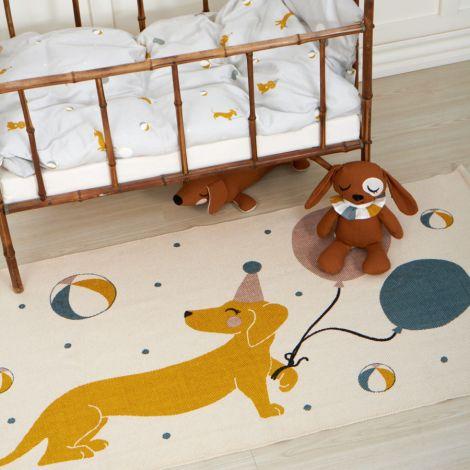 Roommate Kinder-Bettwäsche Magic Dogs Bio-Baumwolle