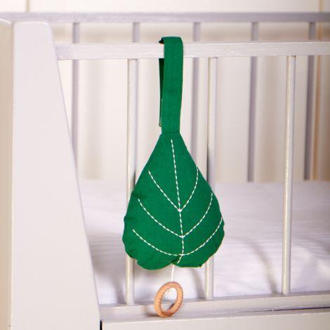 Roommate Spieluhr Leaf Bio-Baumwolle