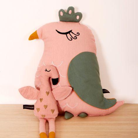 Roommate Kissen Bird Bio-Baumwolle