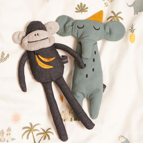 Roommate Kuscheltier Monkey Bio-Baumwolle