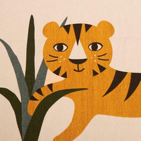 Roommate Teppich Tiger Bio-Baumwolle