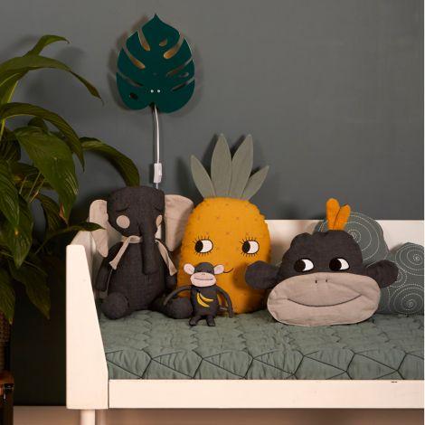 Roommate Kissen Pineapple Bio-Baumwolle