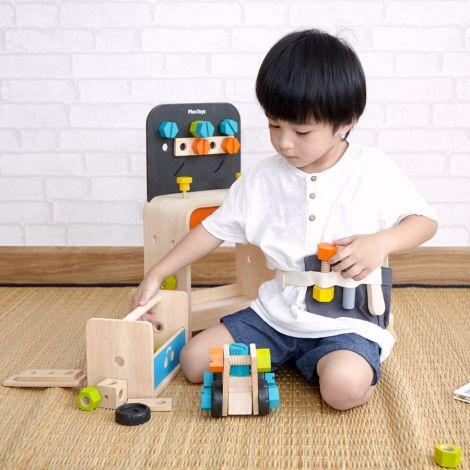 PlanToys Roboter Werkzeugkasten •
