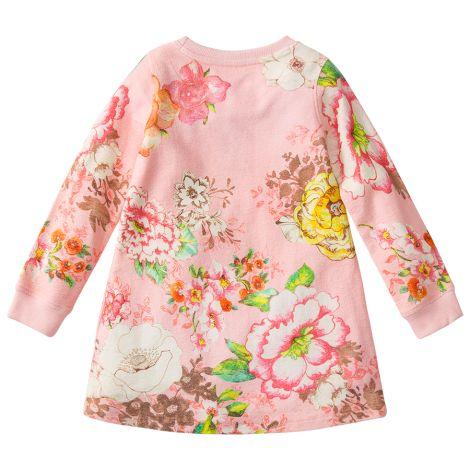 Room Seven Kleid Henriette Big Flower Pink