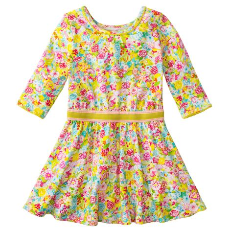 Room Seven Jersey-Kleid Titou Spring Flower Multi Colour