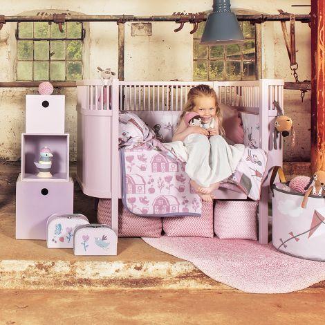 Sebra Stoffbuch Farm Girl •