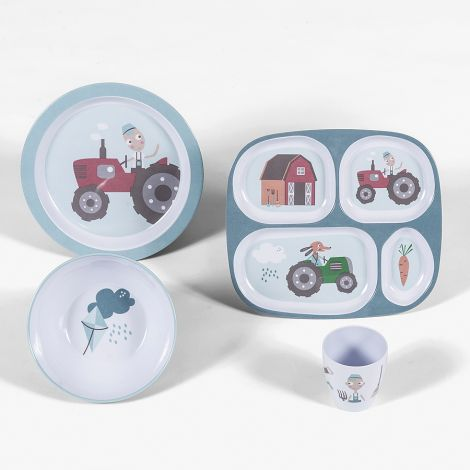 Sebra Lunch box Farm Boy