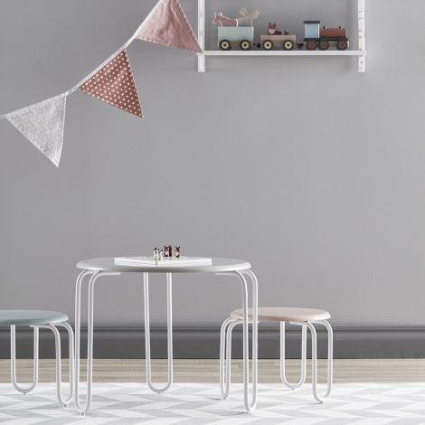 Kids Concept Tisch Linus Grau