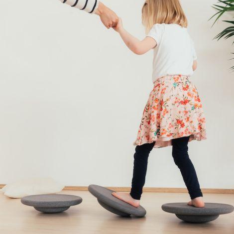 Stapelstein Colors Balance Board Grey