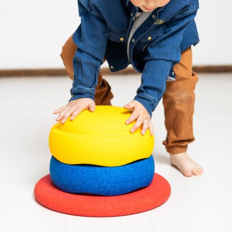 Stapelstein Colors Balance Board Set Primary 3-teilig