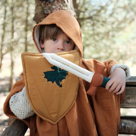 Fabelab Schwert und Schild Bio-Baumwolle