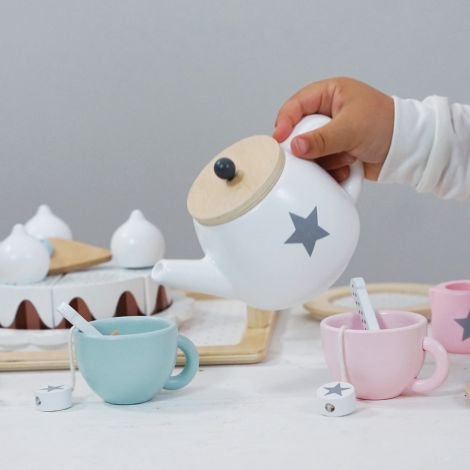 JaBaDaBaDo Geschirr-Set Spielzeug Holz