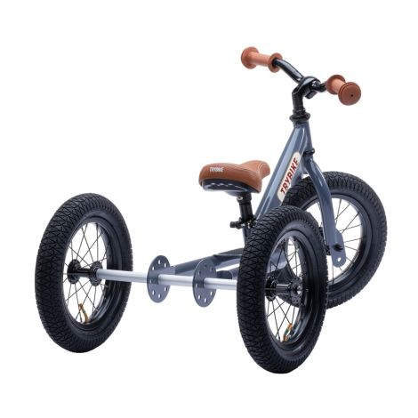 Trybike Dreirad / Laufrad Grey 2 in 1