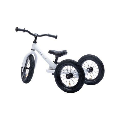 Trybike Dreirad / Laufrad Matt White 2 in 1