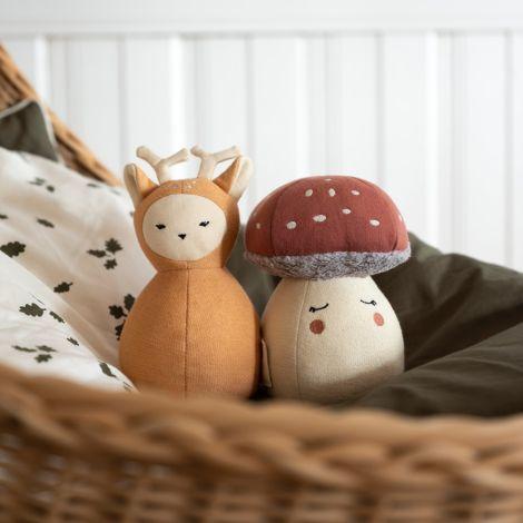 Fabelab Babyspielzeug Tumbler Fawn Bio-Baumwolle