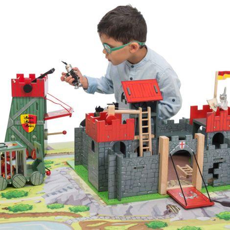 Le Toy Van Burg Camelot Rot
