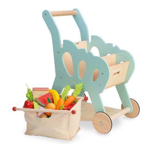 Le Toy Van Einkaufswagen inkl. Tasche