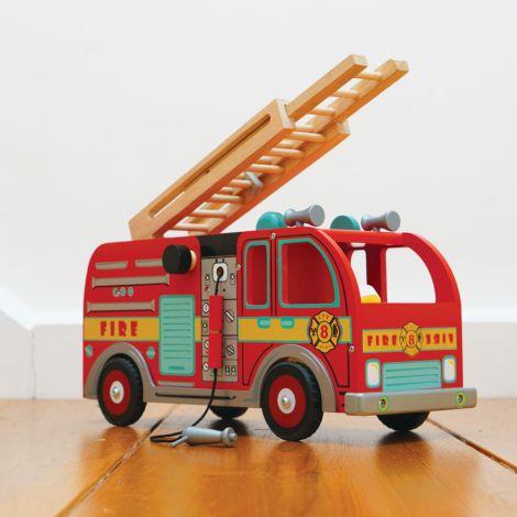 Le Toy Van Feuerwehrauto mit Zubehör